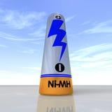 батарея перезаряжаемые определяет Стоковая Фотография
