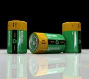батарея перезаряжаемые Стоковая Фотография