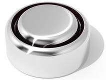 батарея плоская Стоковое Фото