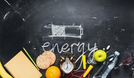 Батарея различного способа энергии сбережений концепции Стоковое Фото
