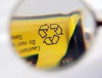 батарея рециркулирует Стоковая Фотография RF