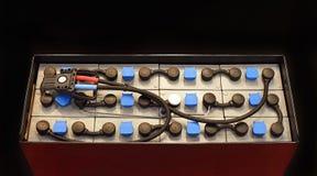 Батарея для грузоподъемника Стоковое Фото