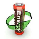 батарея rechargable иллюстрация вектора