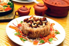 батат vegetarian тарелки Стоковое Фото