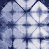 Батик покрашенный материалом Shibori Стоковые Фото