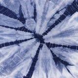 Батик покрашенный материалом Shibori Стоковые Изображения