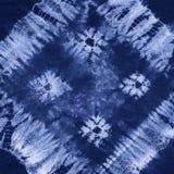 Батик покрашенный материалом Shibori Стоковое Изображение RF