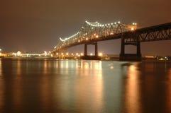 Батон-Руж для того чтобы перенести мост Ален на I 10 стоковое изображение rf
