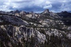 Батолит Айдахо около больших скал рожка Стоковое фото RF