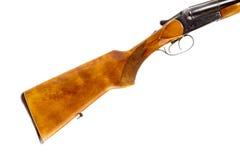 Батт крупного плана винтовки звероловства стоковые фотографии rf