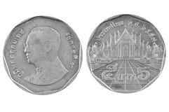 Бат монетки 5 Таиланд Стоковое Изображение