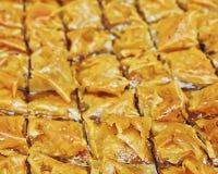 Бахлава, очень вкусная восточная помадка Стоковое Изображение RF