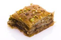 Бахлава - традиционная сладостная пустыня Стоковая Фотография