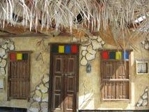 Бахрейнский арабский традиционный дом стоковое фото