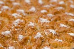 Бахлава десерта Рамазана Turkish с предпосылкой концепции Стоковые Изображения RF