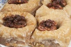 Бахлава с грецким орехом 'султан' Стоковое Фото
