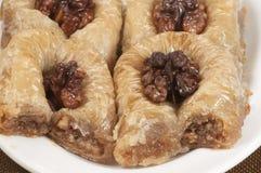 Бахлава с грецким орехом 'султан' Стоковые Фото