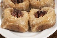 Бахлава с грецким орехом 'султан' Стоковое Изображение RF