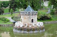 Башенка в озере Стоковая Фотография RF