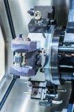Башенка инструмента токарного станка Cnc Стоковое Изображение RF