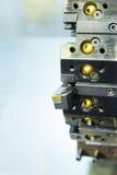 Башенка инструмента токарного станка Cnc Стоковая Фотография RF