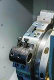 Башенка инструмента токарного станка Cnc Стоковое Изображение