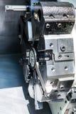 Башенка инструмента токарного станка Cnc Стоковые Изображения RF