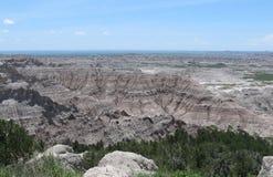 Башенка обозревает, неплодородные почвы Стоковая Фотография RF