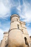 башенка gordes замока стоковая фотография rf