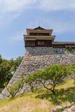 Башенка Inui (северозапада) замка Matsuyama, Японии Стоковая Фотография