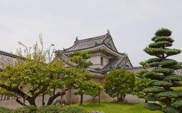 Башенка Inuiyagura замка Wakayama, Японии Стоковое Изображение