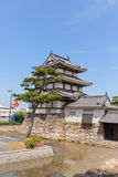 Башенка Kitanomaru Tsukimi (1676) замка Takamatsu, Японии Стоковое Изображение