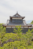 Башенка Otemukaiyagura замка Ямато Koriyama, Японии Стоковая Фотография RF