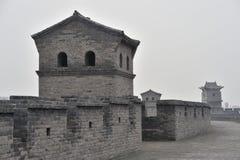 Башенки стены Стоковое Изображение