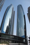 Башни Абу-Даби Etihad Стоковое фото RF
