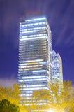 Башни Близнецы в Барселона Стоковое Фото