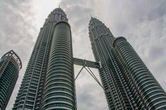 Башни Близнецы Petronas, Малайзия стоковые изображения