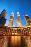 Башни Близнецы Petronas, Малайзия Стоковые Фото