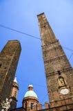 Башни болонья, Италия Стоковое Изображение RF