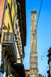 Башни болонья, Италия Стоковое фото RF