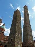 2 башни, болонья Стоковое Фото