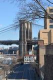 Башни Бруклинского моста Стоковое фото RF