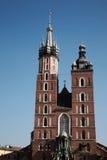 Церковь Mariacki в Краков стоковые фото