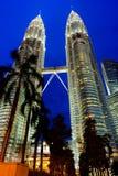 Башни Близнецы Petronas Стоковая Фотография RF
