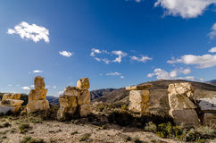 Башни блоков мраморов Стоковые Фотографии RF