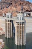 Башни входа запруды Hoover Стоковое Изображение