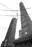 Башни в болонья Стоковые Изображения