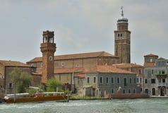 Башни в Murano Стоковое Фото