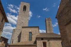 Башни в San Gimignano Тоскане Италии Стоковая Фотография