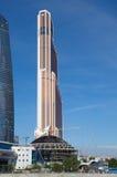 ` Башни города Меркурия ` башни, Москва, Россия Стоковое Изображение
